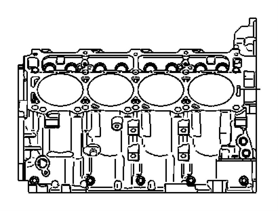 Dodge Magnum Crankshaft, engine, piston pin and rod. Short