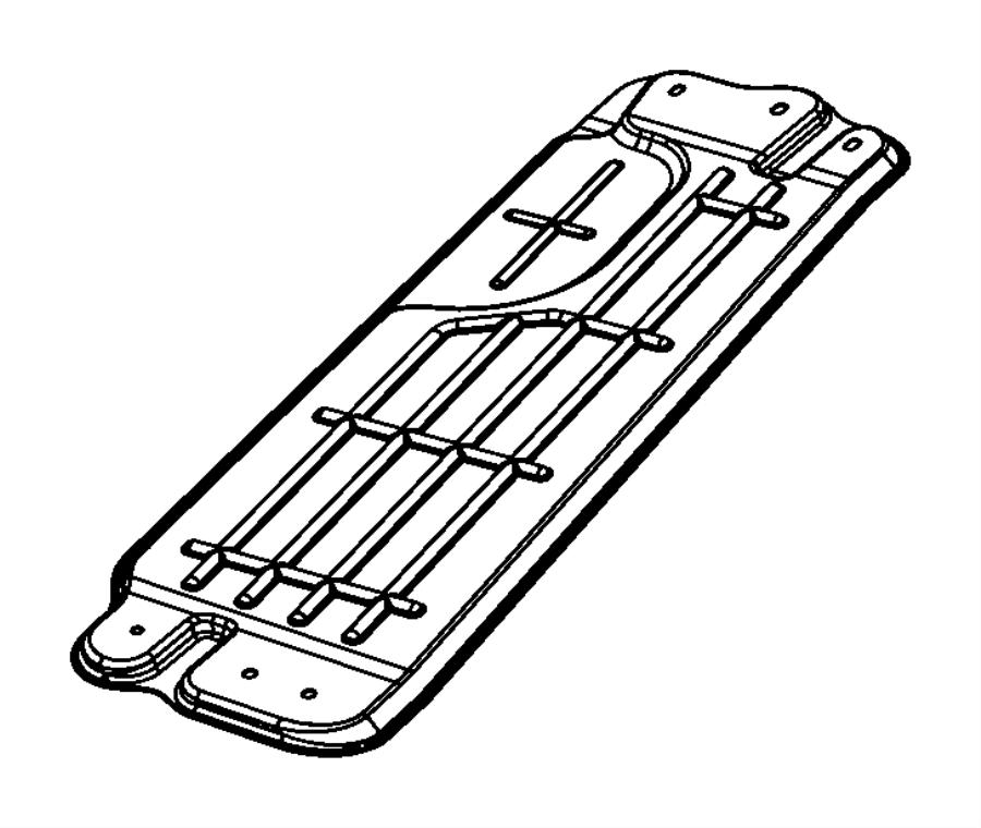 Dodge Durango Shield. Heat. With sales code [2.0l 4 cyl