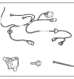 2004 jeep wrangler trailer tow wiring harness wiring kit [ 1138 x 900 Pixel ]