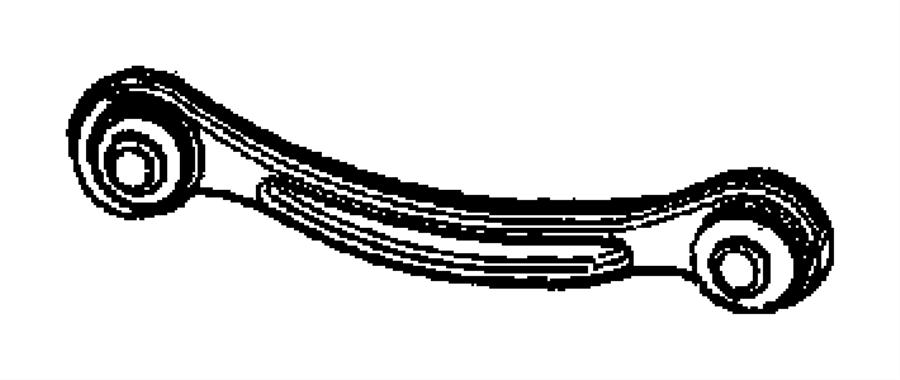 2007 Chrysler 300 C 5.7L Hemi V8 Link assembly, tension