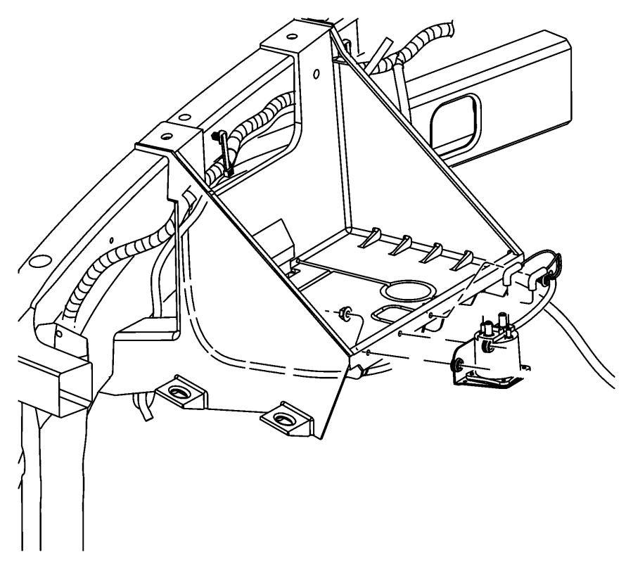 RAM 5500 Relay. G8v-rh-1a7t-r-dcx12, intake heater