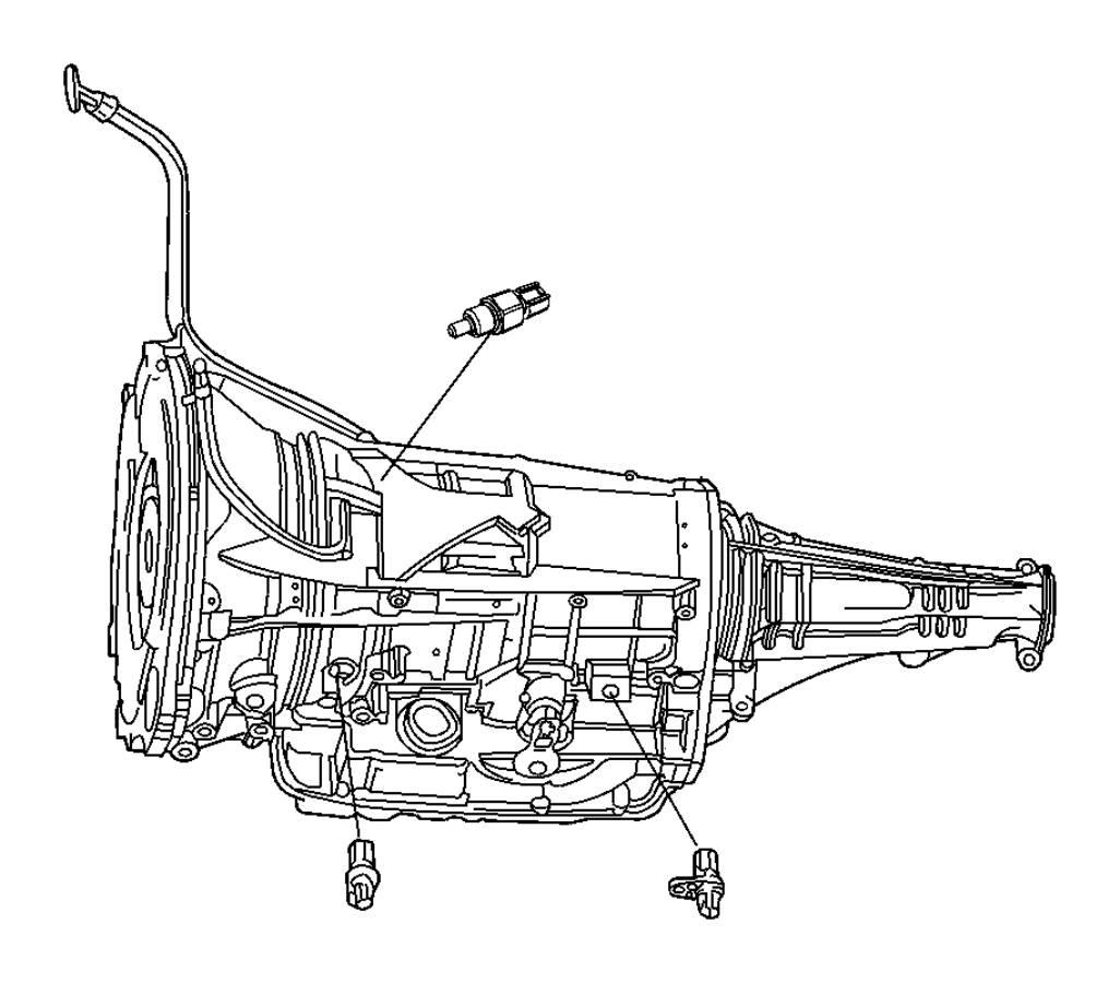 2011 Dodge Ram 5500 Sensor. Transmission output speed