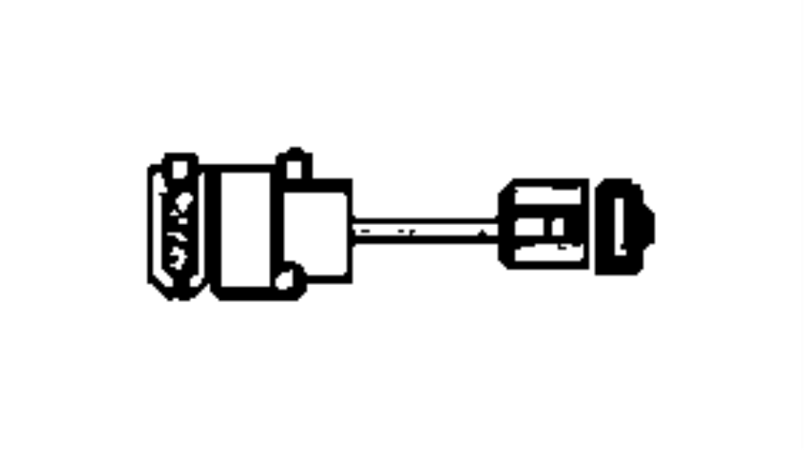Dodge SPRINTER Connector. Tank connector [8-pin;x25/15