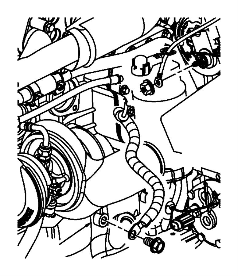 Dodge Ram 2500 Wiring. Battery negative. Right. [[136 amp