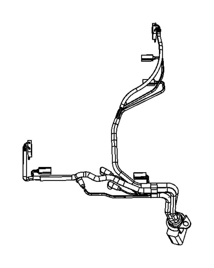 RAM 5500 Harness, wiring. Transmission. 12 pin connector