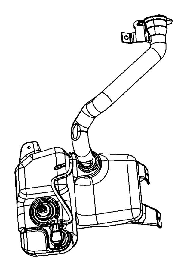 Chrysler Pacifica Grommet. Washer level sensor