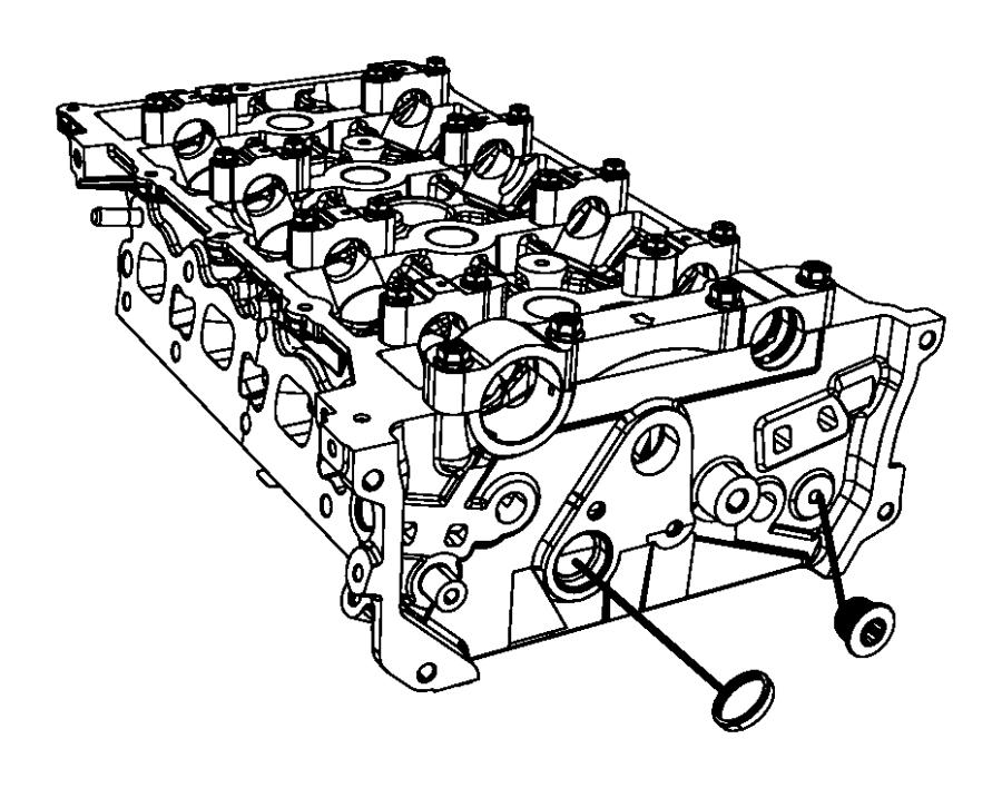 Dodge Avenger Cap, plug. Cap-sealing, core. Coolant drain