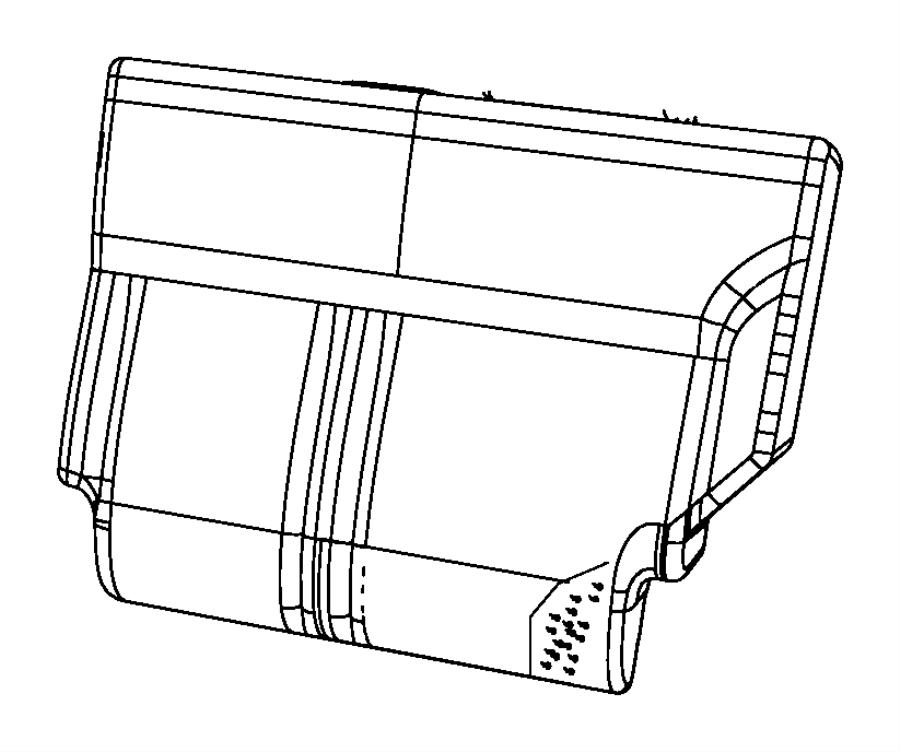 Dodge Nitro Cover. Seat back. [k7], [ka]. Trim: [cloth low