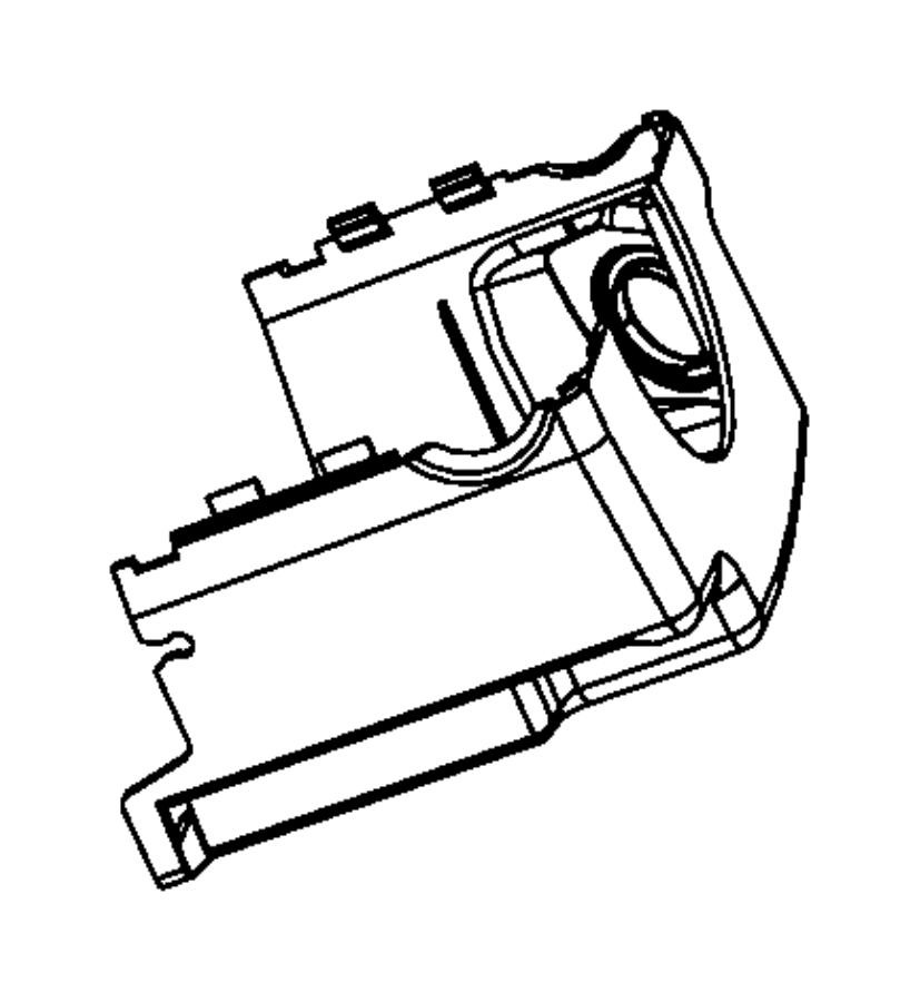 Dodge Nitro Shroud. Steering column. Lower. [j8][thatcham
