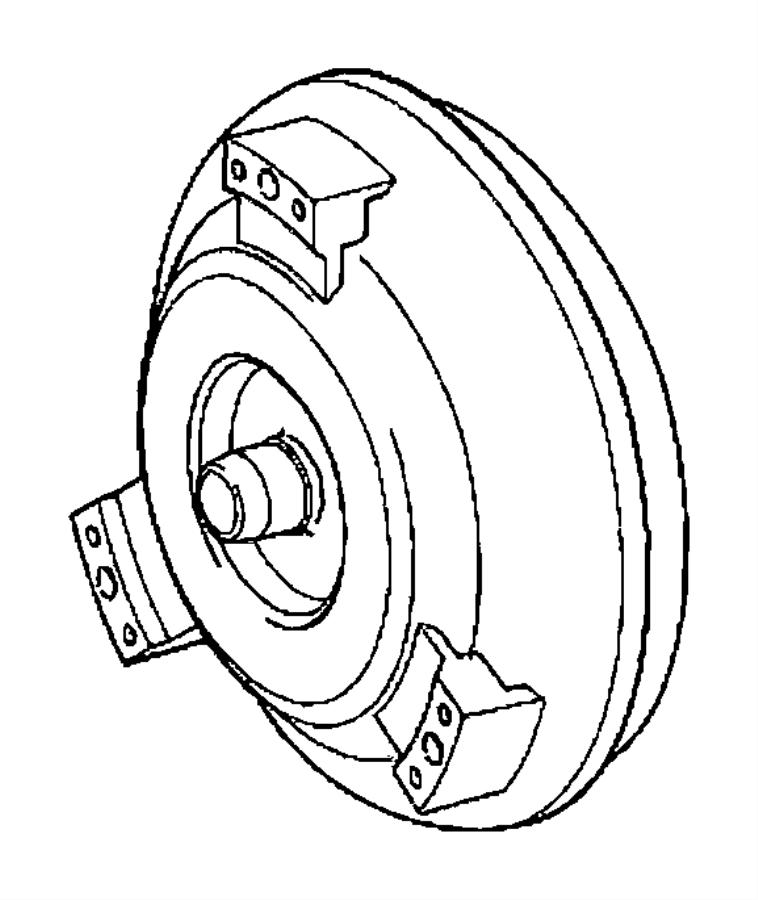 2008 Dodge Converter. Remanufactured. Torque. Dgz