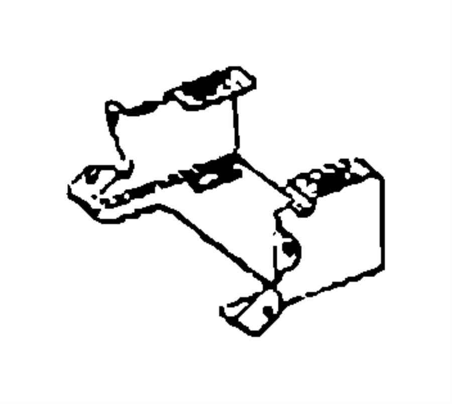 Dodge SPRINTER Bracket. With [front overhead storage bin