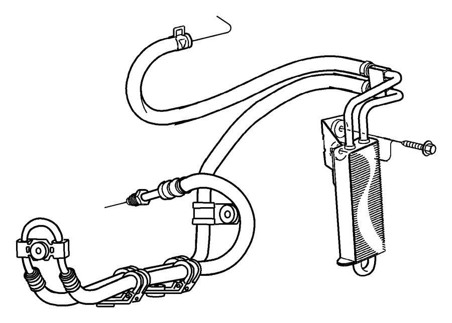 2011 Jeep Liberty Power Steering Hoses.