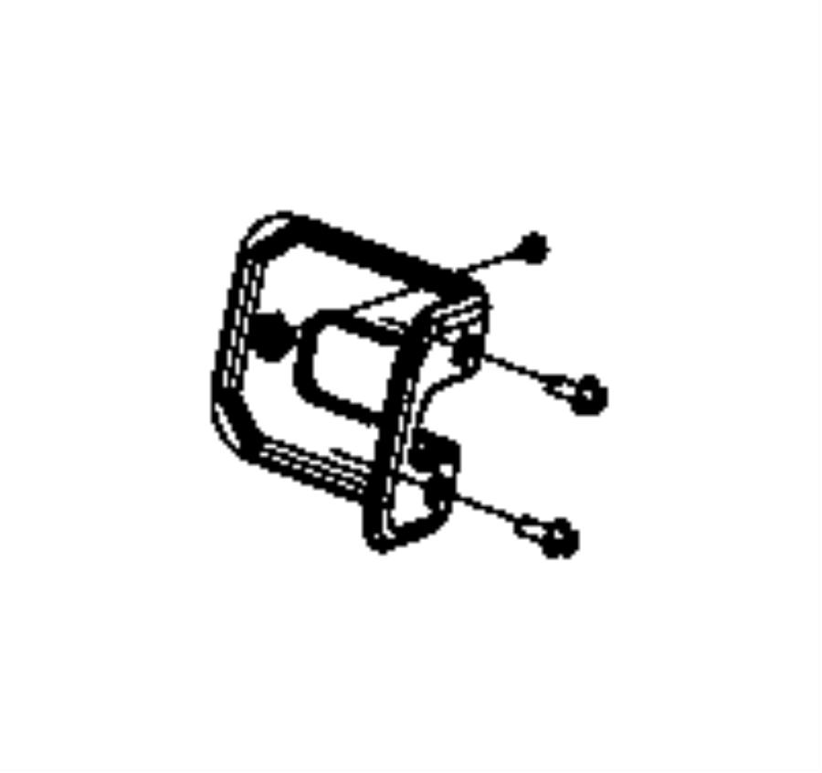 Chrysler Pt Cruiser Shield. Seat. Trim: [cloth low-back