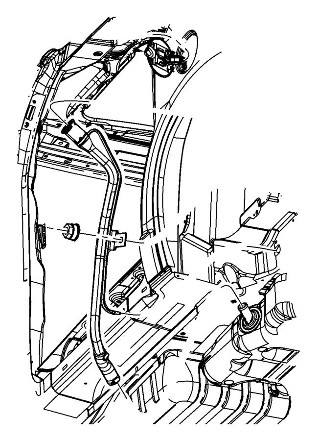 Fuel Tank Filler Tube.