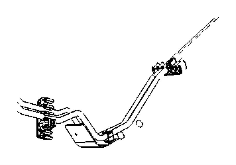 Dodge Caliber Bumper. Rubber. [2.0l i4 dohc diesel 16v