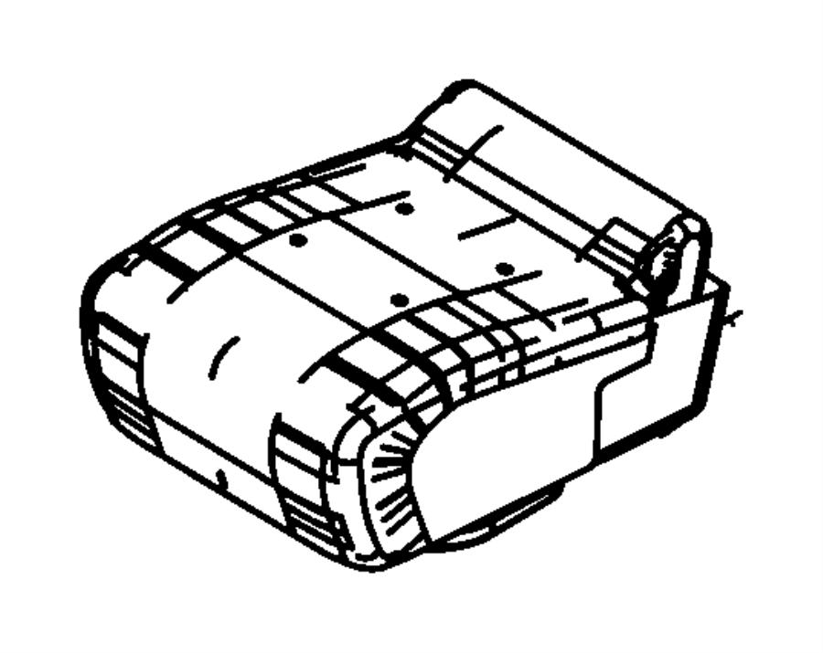 Dodge Ram 1500 Bin, cushion, used for: cover and foam