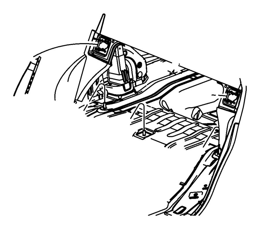 Dodge Avenger Striker. Seat back latch. Export. Trim