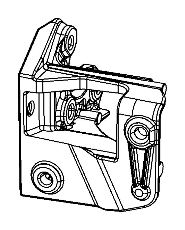 Dodge Journey Bracket. Power steering, power steering pump