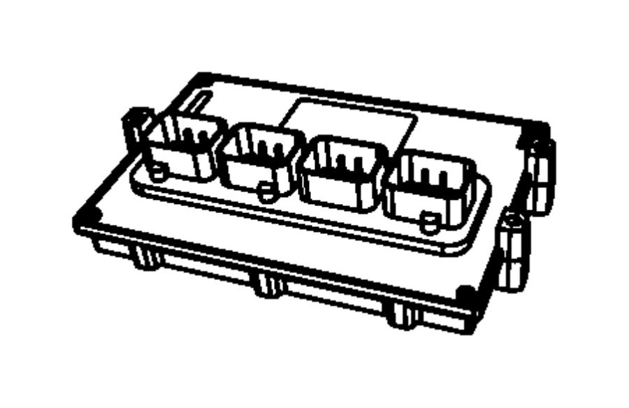 Jeep Liberty Module. Powertrain control. Generic