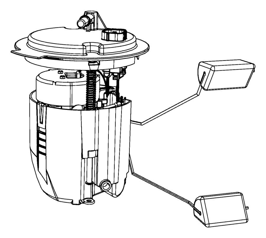Chrysler Sebring Module kit, module package. Fuel pump