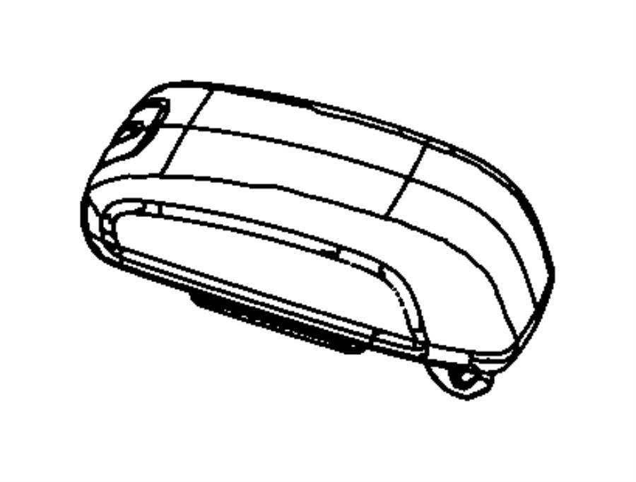 Jeep Wrangler Lid. Center console storage. Trim: [no