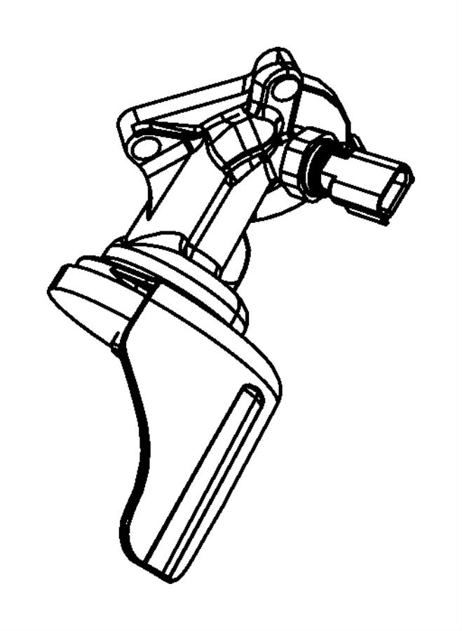 Dodge Durango Adapter. Oil filter. [engine oil cooler