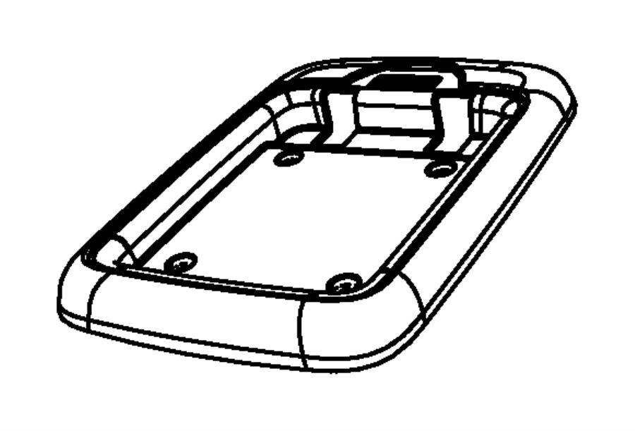 Dodge Grand Caravan Tray. Floor console. [t1]. Trim: [all