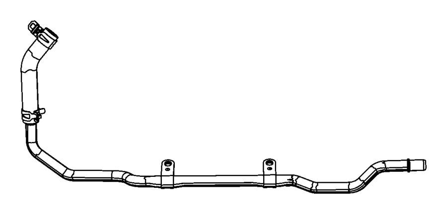 Chrysler Town & Country Used for: HOSE AND TUBE. Heater