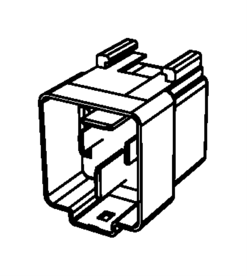 Jeep Compass Relay. Mini. Export. [4] terminal, glow plug