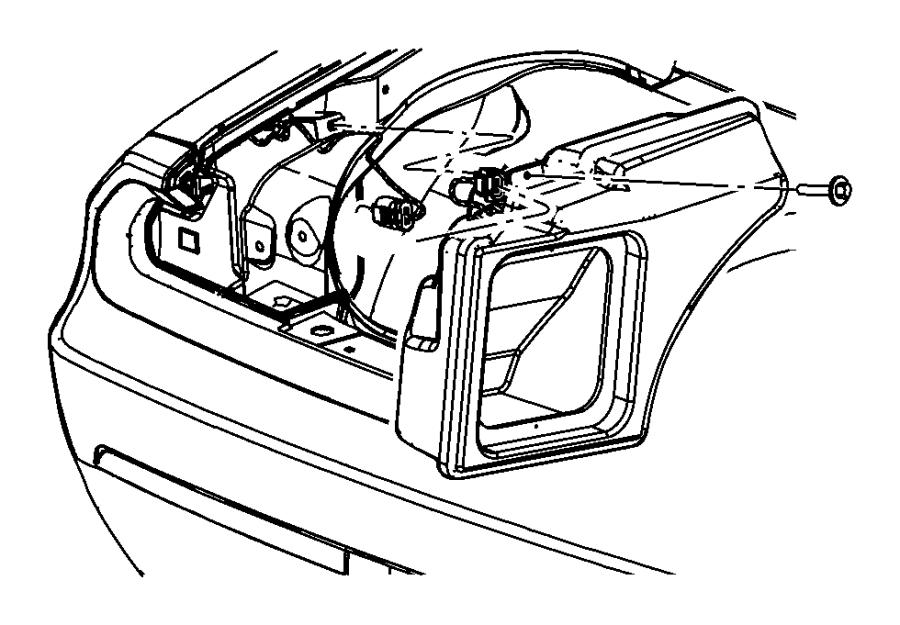 2011 Dodge Challenger Enclosure. Speaker. Woofer