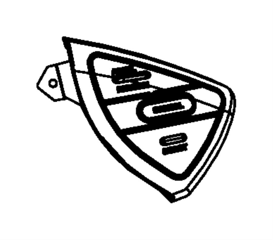 2014 Dodge Grand Caravan Switch. Evic. Steering wheel