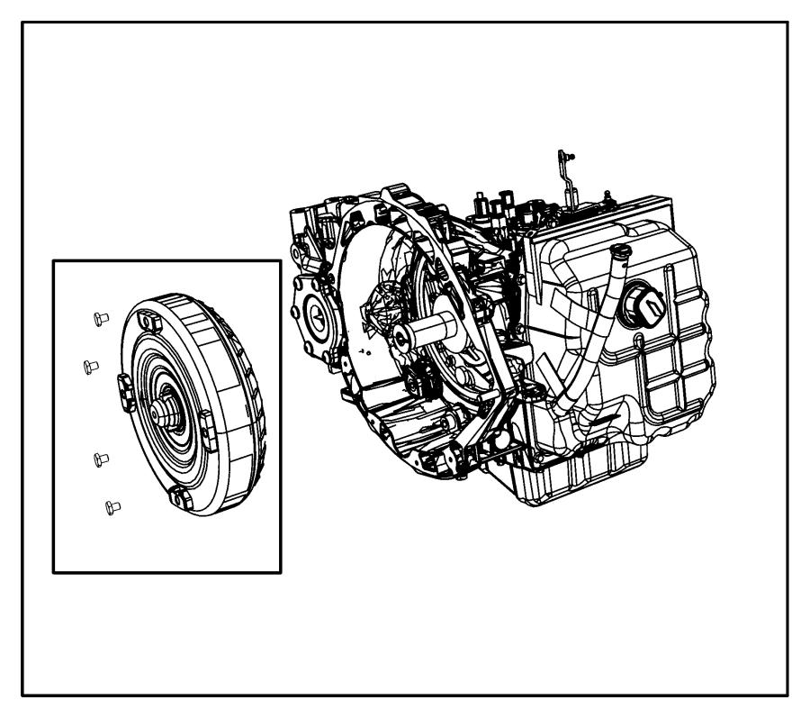 Dodge Journey Transmission kit. With torque converter