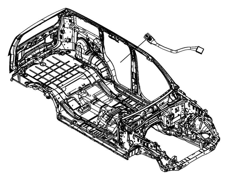 Jeep Liberty Harness, wiring. Sunroof. [sky slider full
