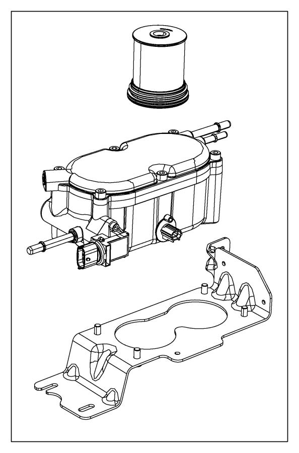 Jeep Grand Cherokee Filter. Fuel/water separator. [diesel