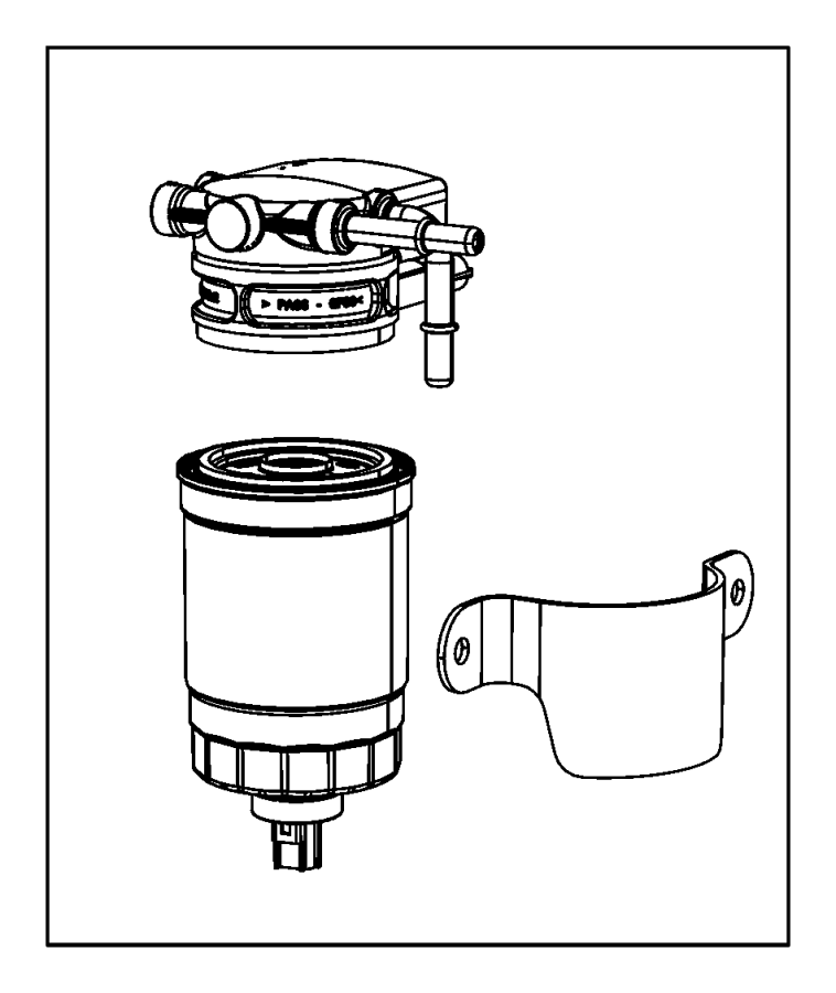 Alliance Fuel Water Separator Filter