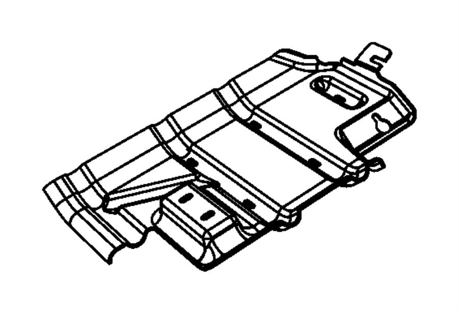 Dodge Ram 2500 Skid plate. Front. [powerwagon off road