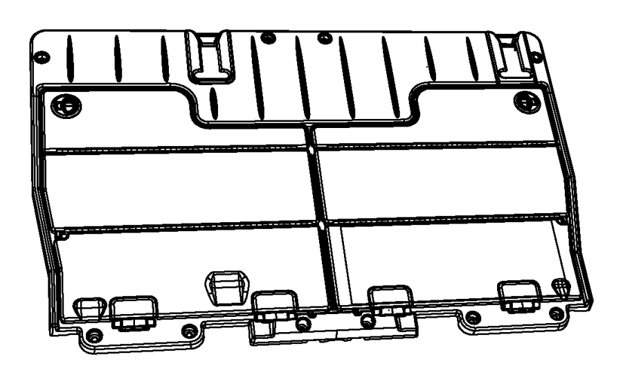 Chrysler Town & Country Frame. Load floor. [x1], [x1