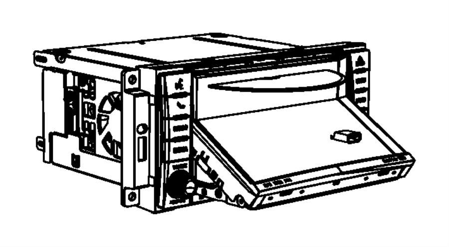 Jeep Patriot Radio. Am/fm with cd, am/fm/cd/dvd/hdd