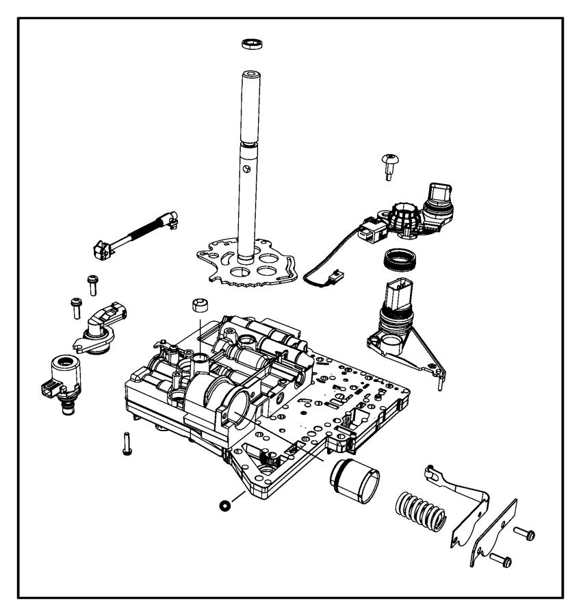 Chrysler Town & Country Valve body kit. Transmission