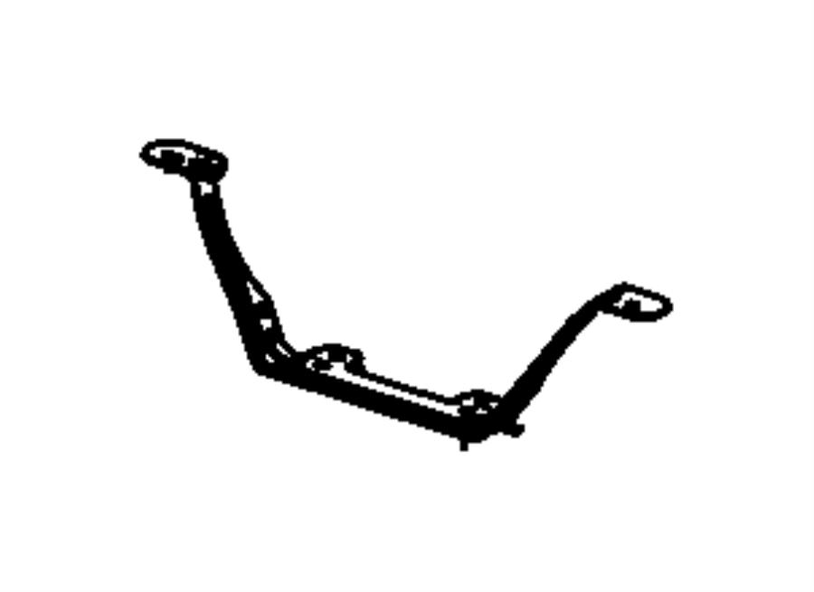 Jeep Grand Cherokee Bracket. Seat. Export. Trim: [black