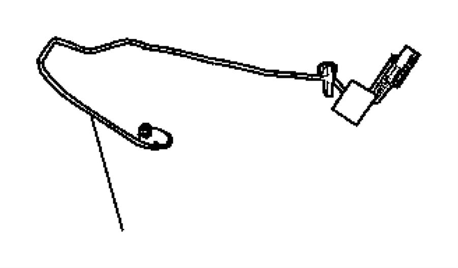 Dodge Durango Wiring. Side air bag. Trim: [leather trimmed