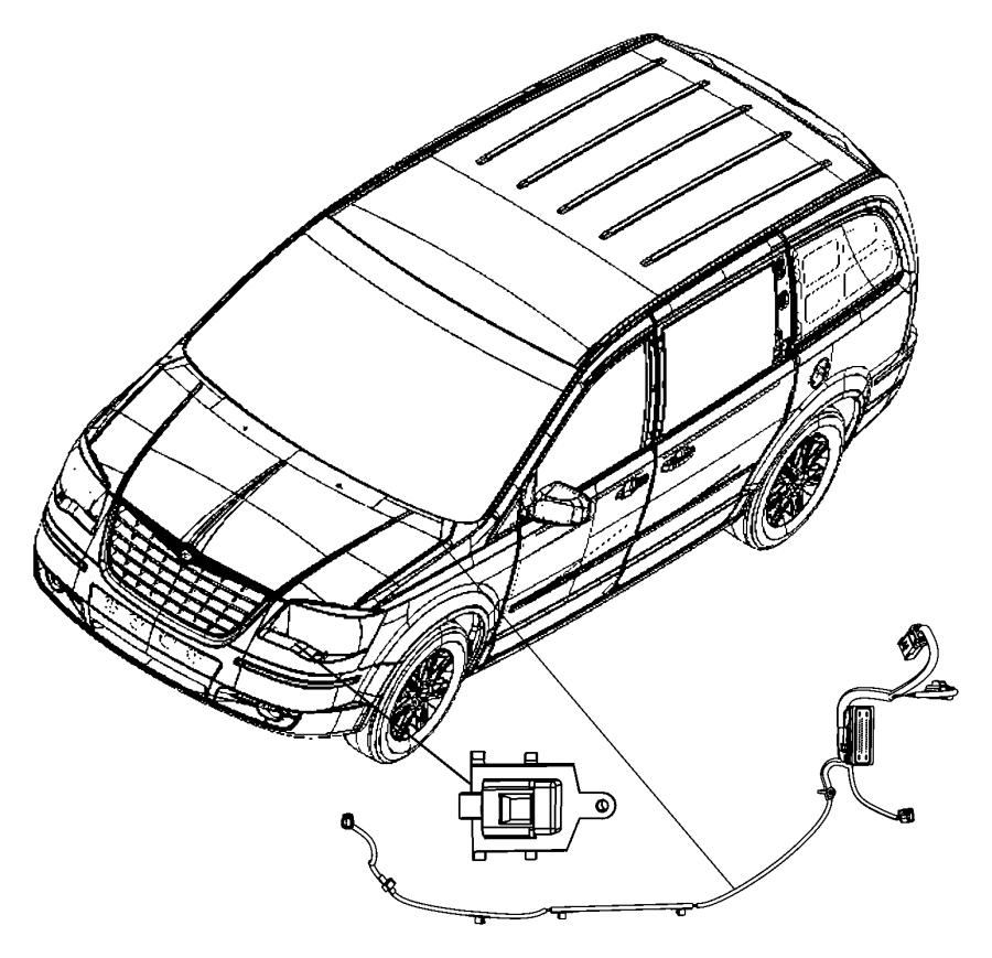 Dodge Grand Caravan Wiring. Abs/esp harness. Up to 03/28