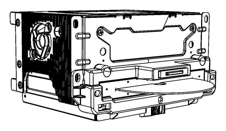 Chrysler 300 Radio. Multi media. [uconnect touch 8.4 cd
