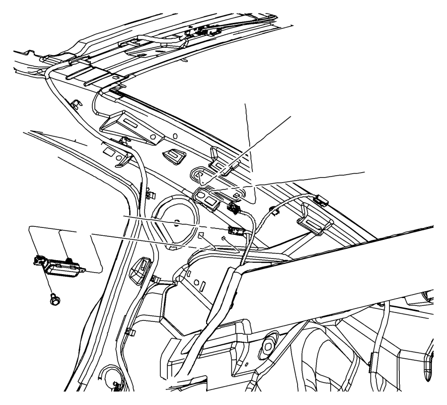 2015 Chrysler 200 Capacitor. Antenna. Rdl, cellular