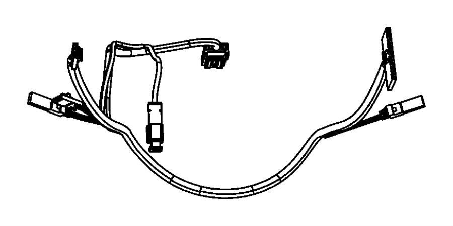 Jeep Patriot Wiring. Steering wheel. Trim: [no description
