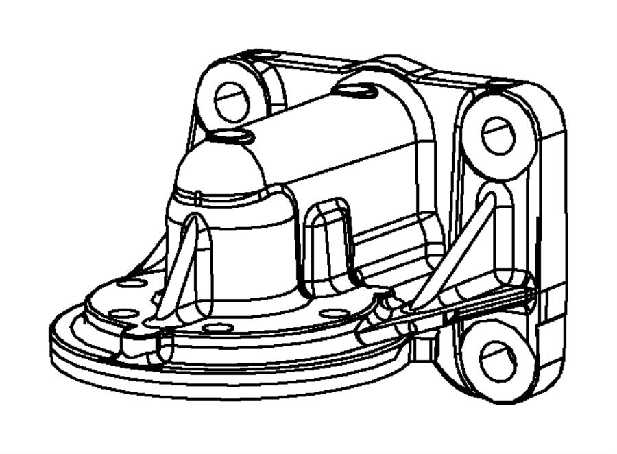 2010 Dodge Journey Engine Oil, Engine Oil Filter And