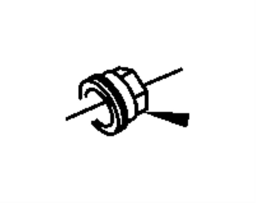 Dodge Caliber Nut. M6x1.00. Ground to engine, mounting