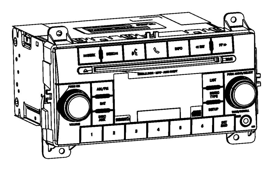 Jeep Grand Cherokee Radio. Multi media. [radio 130