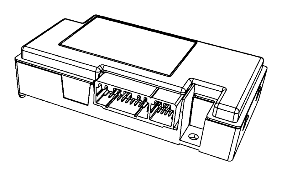 Dodge Dart Module. Telematics. Canada, mexico. Cellular