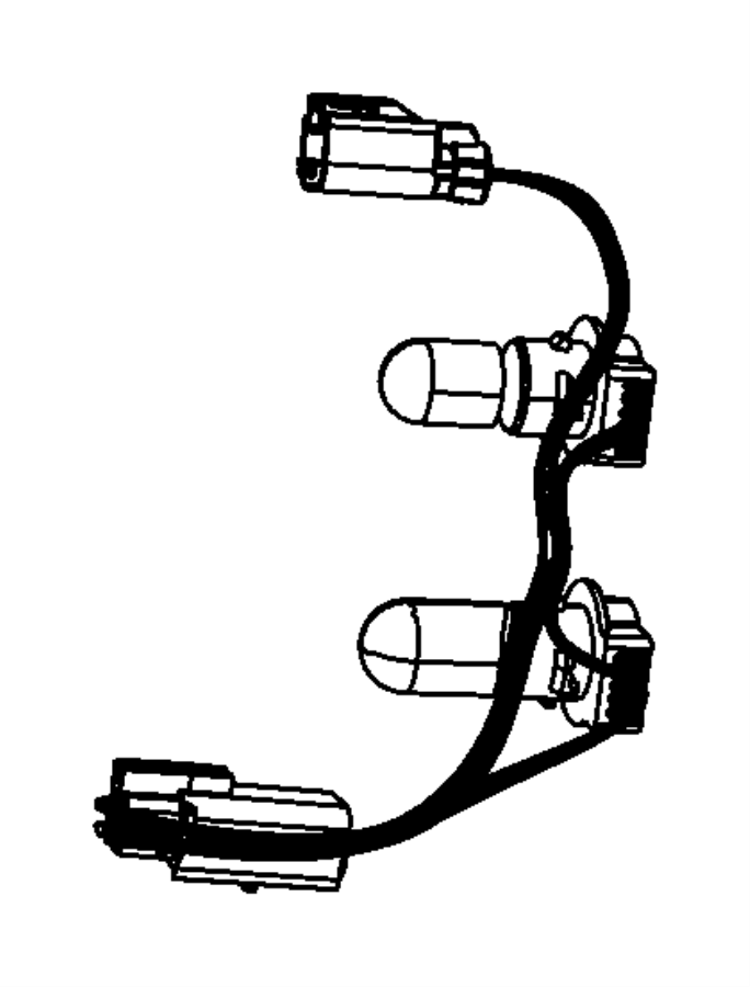 Jeep Compass Wiring. Taillamp. Left, right. [european tail